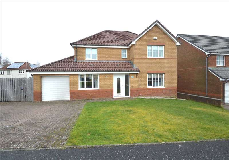 4 Bedrooms Detached House for sale in Aberdour Court, Westcraigs, Blantyre