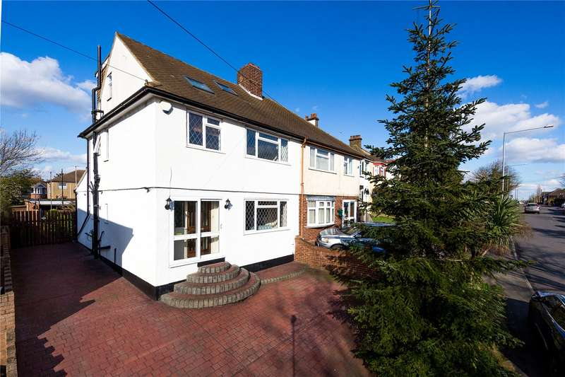 4 Bedrooms Semi Detached House for sale in Purfleet Road, Aveley, South Ockendon, Essex, RM15