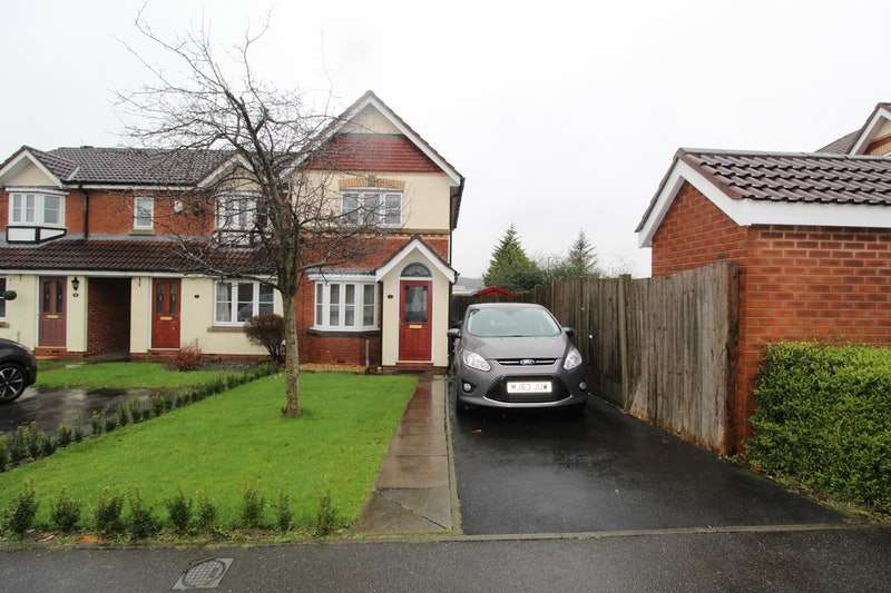 2 Bedrooms End Of Terrace House for sale in Springburn Close, Bolton, Greater Manchester, BL6
