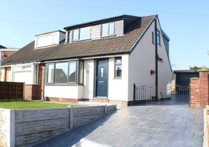 2 Bedrooms Semi Detached House for sale in Newington Drive, Seddons Farm, Bury, Greater Manchester, BL8
