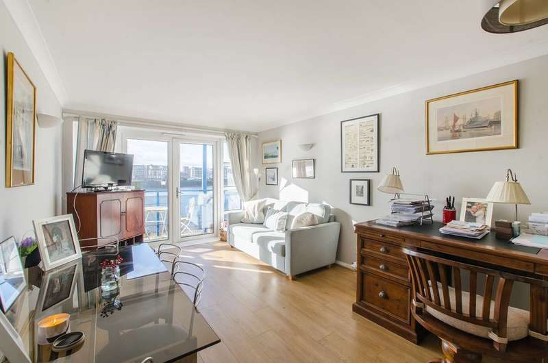 1 Bedroom Flat for sale in Jardine Road, Limehouse, E1W