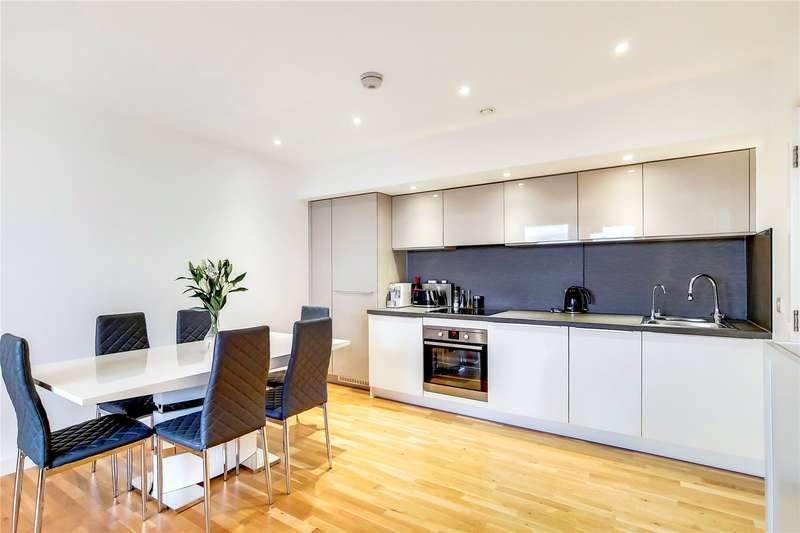 1 Bedroom Flat for sale in Butterfly Court, Bathurst Square, London