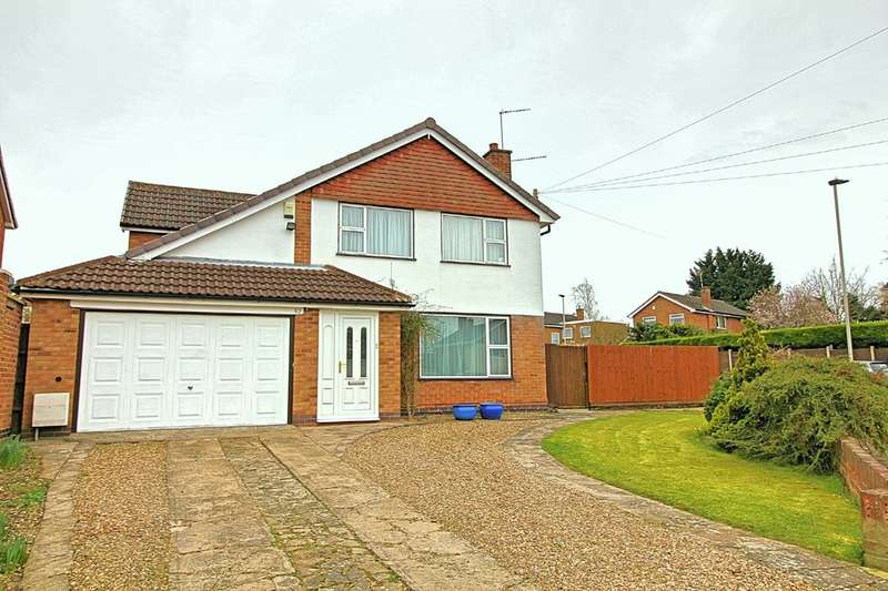 4 Bedrooms Detached House for sale in Baldwin Road, West Knighton