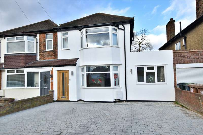 4 Bedrooms Semi Detached House for sale in Watford Road, Croxley Green, Hertfordshire, WD3