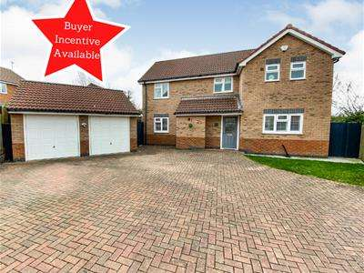 4 Bedrooms Detached House for sale in Fielding Lane, Ratby, Leicester