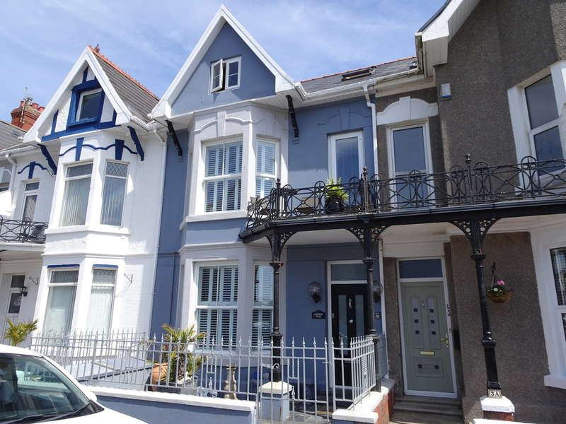 6 Bedrooms Terraced House for sale in PICTON AVENUE, PORTHCAWL, CF36 3AJ