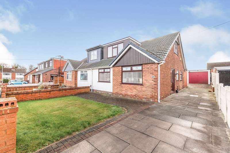 4 Bedrooms Semi Detached House for sale in Derwent Road, Orrell, Wigan, Greater Manchester, WN5