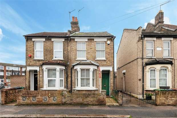 2 Bedrooms Semi Detached House for sale in Woodend Road, Walthamstow, London