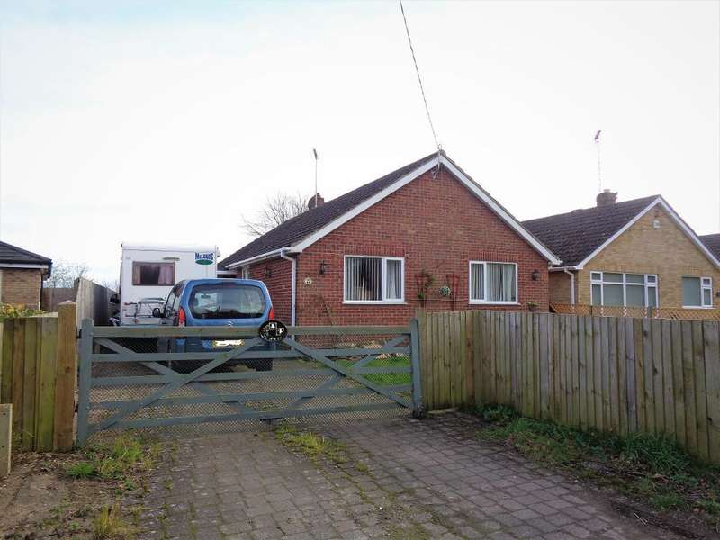 3 Bedrooms Bungalow for sale in Church Lane, Moulton, Spalding, Lincs, PE12 6NP