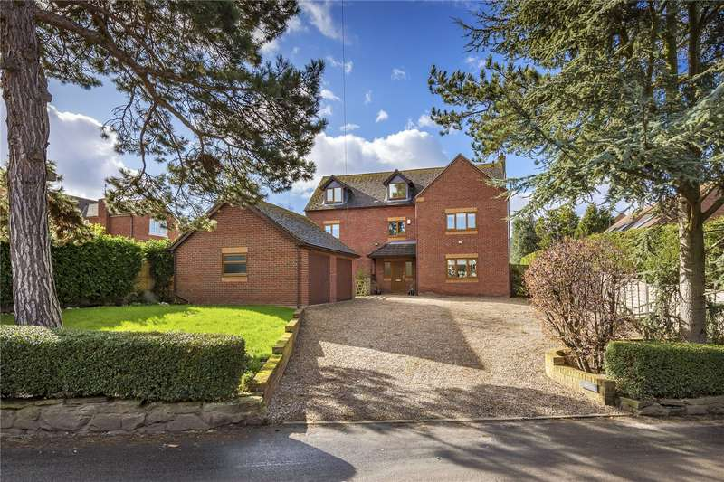 6 Bedrooms Detached House for sale in Tudor View, Bratton Road, Bratton, Telford, Shropshire, TF5