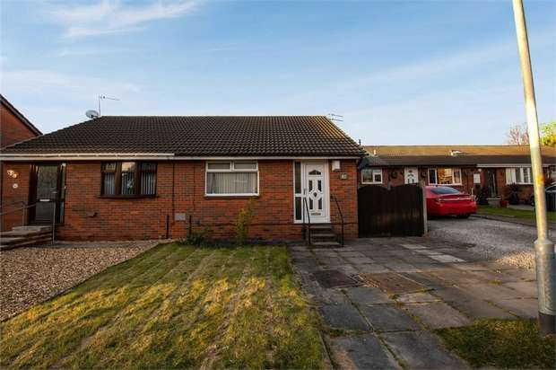 2 Bedrooms Semi Detached Bungalow for sale in Lyndhurst, Skelmersdale, Lancashire