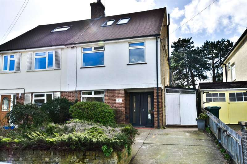 4 Bedrooms Semi Detached House for sale in Links Way, Croxley Green, Rickmansworth, Hertfordshire, WD3
