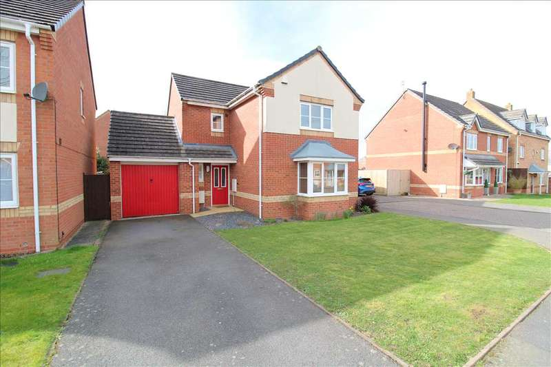 3 Bedrooms Detached House for sale in Daisy Croft, George Elliot Gardens, Coventry
