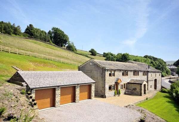 5 Bedrooms Unique Property for sale in Hawkcliffe Farm, Hebden Road, Haworth, Keighley