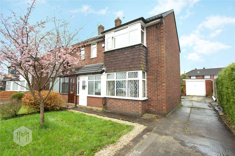 3 Bedrooms Semi Detached House for sale in Bury Road, Radcliffe, Manchester, Greater Manchester, M26