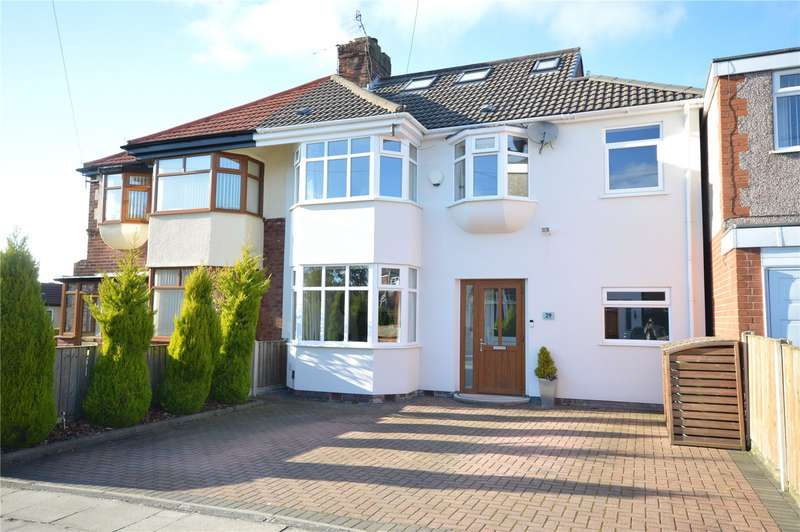 4 Bedrooms Semi Detached House for sale in Chalfont Road, Allerton, Liverpool, L18