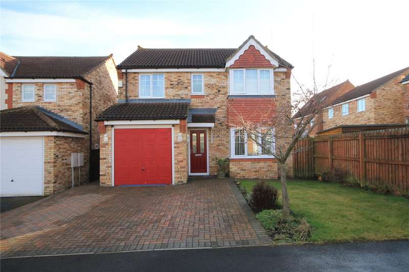 4 Bedrooms Detached House for sale in Harwood Close, Templetown, Consett, DH8