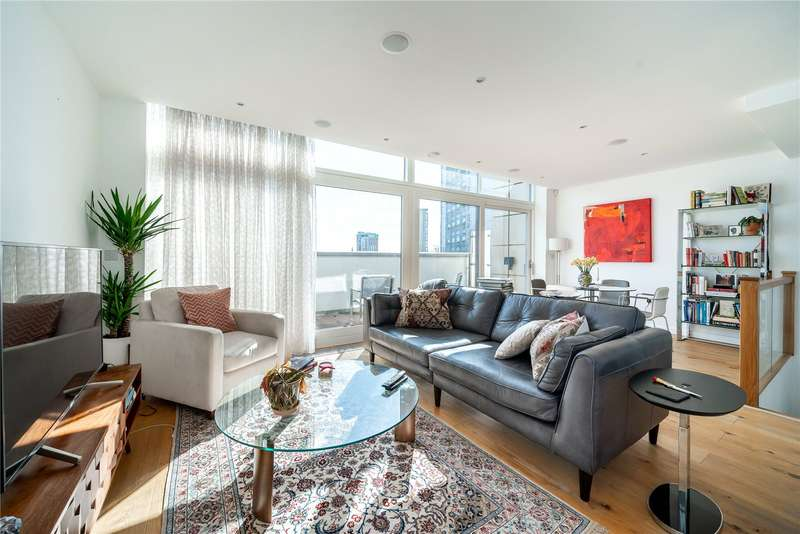 2 Bedrooms Apartment Flat for sale in Waterfront Apartments, 82 Amberley Road, London, W9