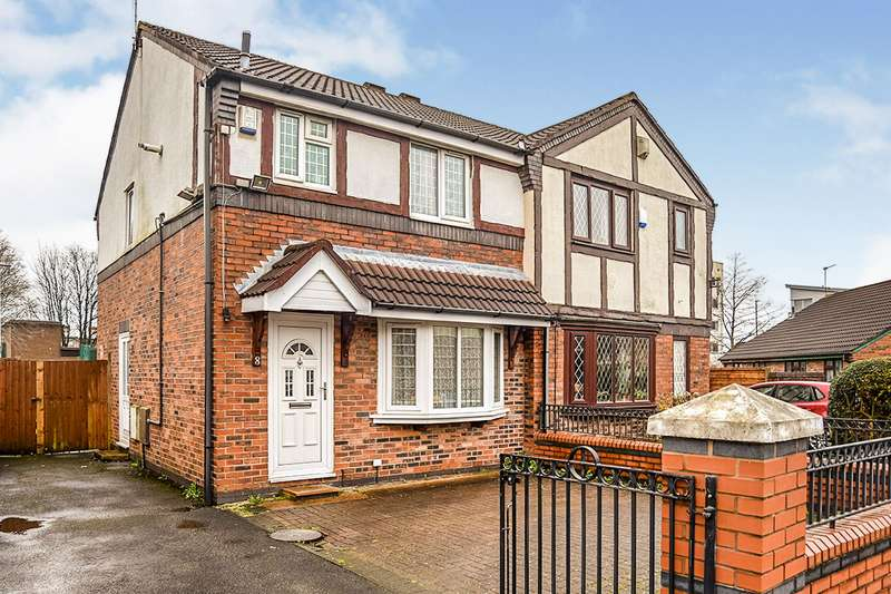 3 Bedrooms Semi Detached House for sale in Hartwell Close, Manchester, Greater Manchester, M11