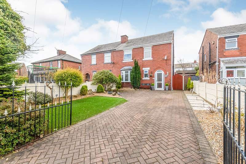 4 Bedrooms Semi Detached House for sale in The Avenue, Billinge, Wigan, Merseyside, WN5