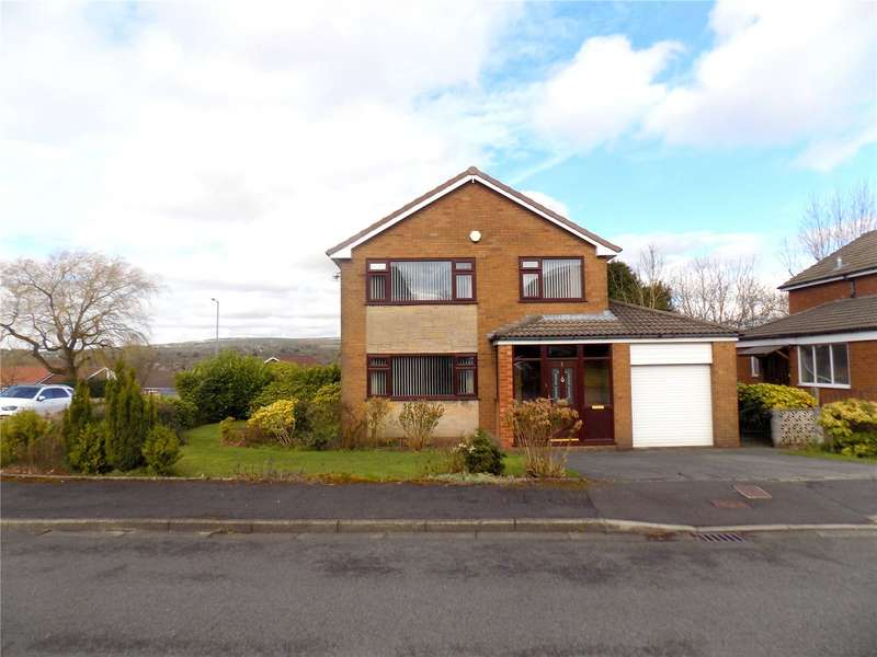 4 Bedrooms Detached House for sale in Amberley Close, Bolton, Greater Manchester, BL3