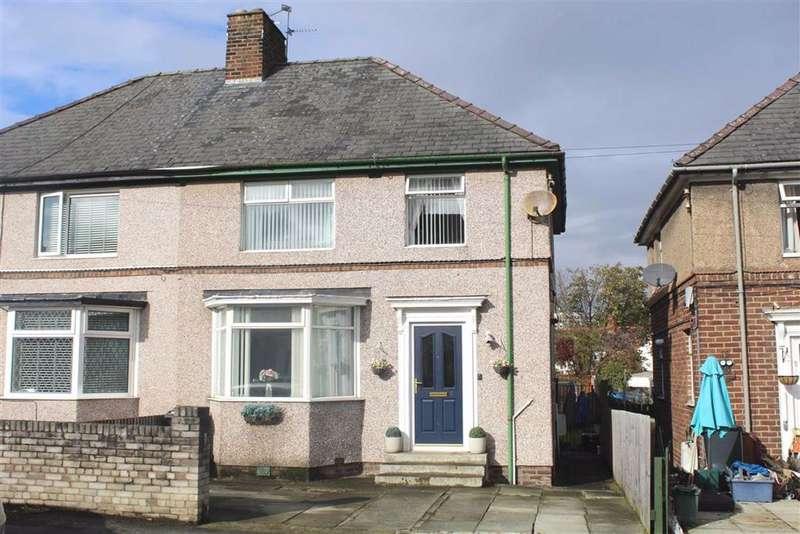 3 Bedrooms Semi Detached House for sale in Borough Grove, Flint, Flintshire, CH6