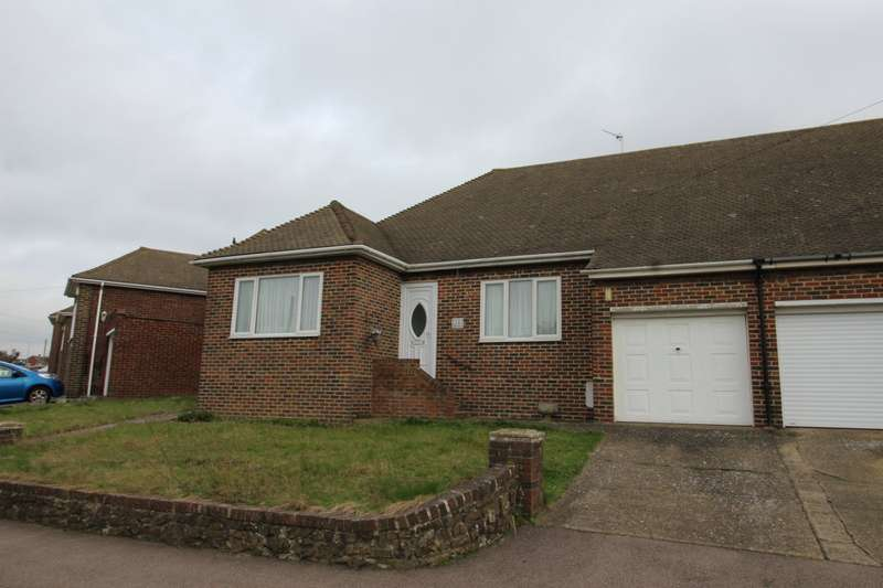 3 Bedrooms Semi Detached Bungalow for sale in Marling Way, Gravesend, Kent, DA12