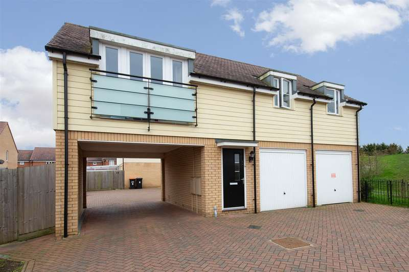 2 Bedrooms Detached House for sale in Lotus Mews, Dunstable, Bedfordshire