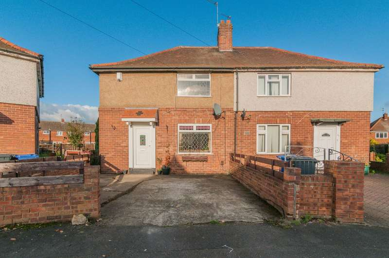 2 Bedrooms Semi Detached House for sale in Argyll Avenue, Doncaster