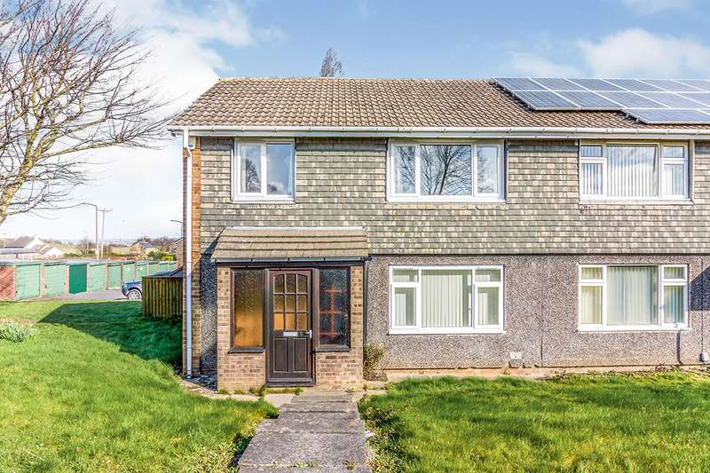 3 Bedrooms Semi Detached House for sale in Manor Close, Rawmarsh, Rotherham, South Yorkshire, S62