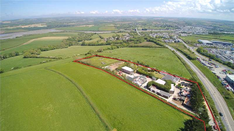 4 Bedrooms Land Commercial for sale in St. Breock, Wadebridge, Cornwall, PL27