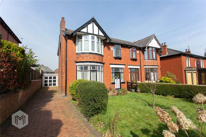 3 Bedrooms Semi Detached House for sale in Bury Old Road, Heywood, Greater Manchester, OL10