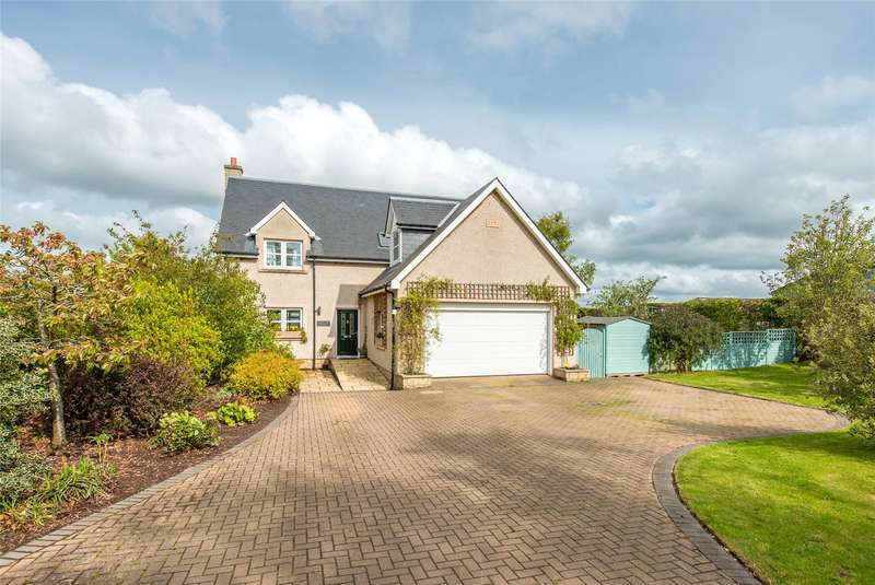5 Bedrooms Detached House for sale in Greenacre House, Mid Softlaw, Kelso, Scottish Borders, TD5