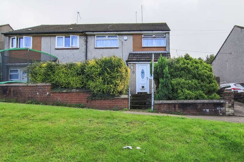 3 Bedrooms Semi Detached House for sale in Monnow Way, Newport