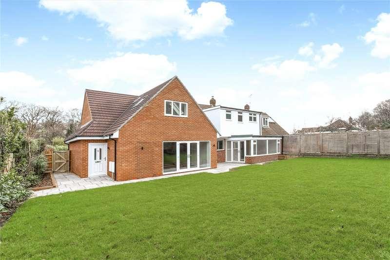 5 Bedrooms Semi Detached House for sale in Harpesford Avenue, Virginia Water, Surrey, GU25