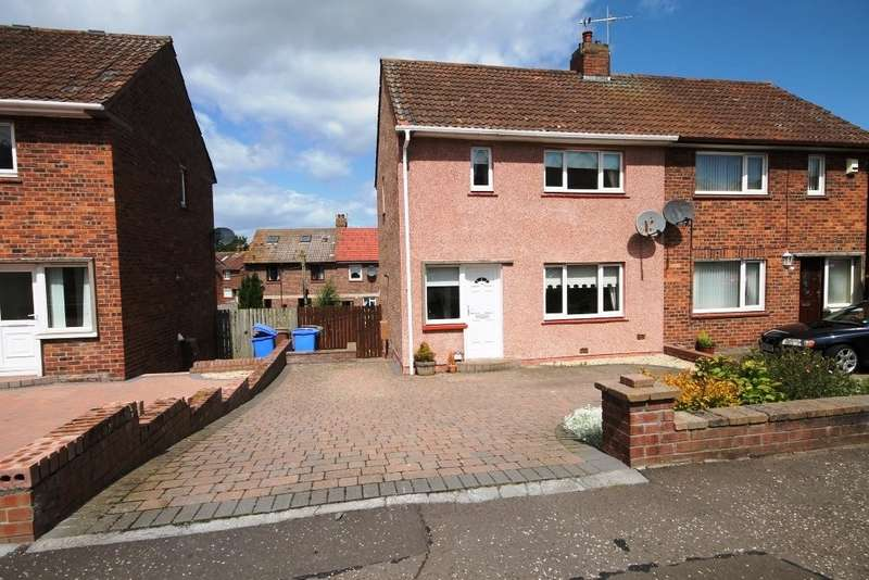 2 Bedrooms Semi Detached House for rent in AYR - Hillfoot Road KA7