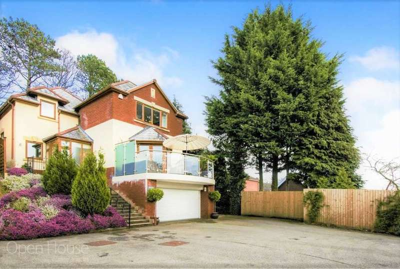 4 Bedrooms Detached House for sale in Pembroke House, Manor Road, Risca