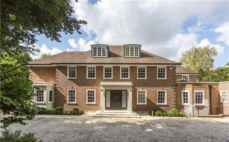 6 Bedrooms Detached House for sale in Cobden Hill, Radlett, Hertfordshire