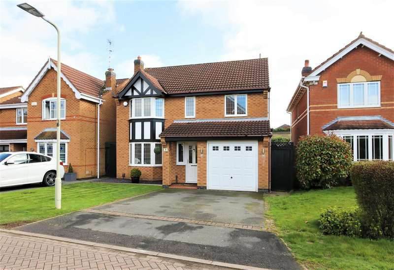 4 Bedrooms Detached House for sale in Naseby Drive, Ashby-De-La-Zouch, LE65 1LT