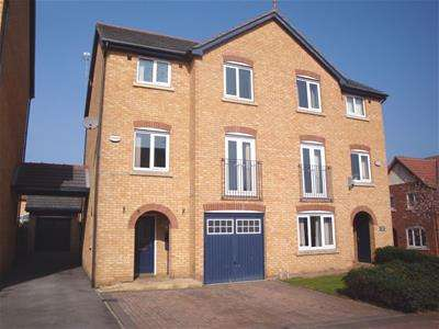 4 Bedrooms Town House for sale in 5 Island Close, Broom, Rotherham