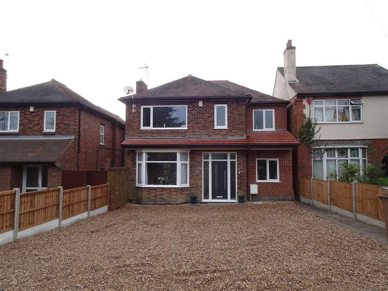 4 Bedrooms Detached House for sale in High Lane West, West Hallam, Ilkeston