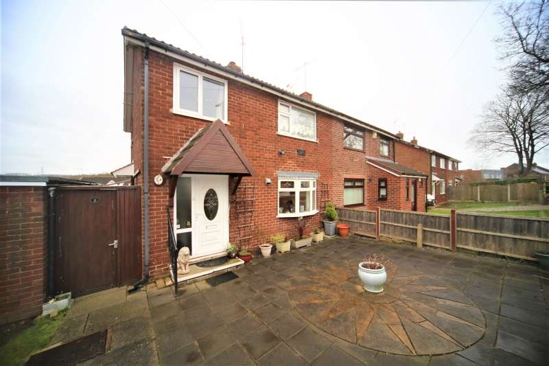 3 Bedrooms Semi Detached House for sale in Rotherham Road, Catcliffe, Rotherham
