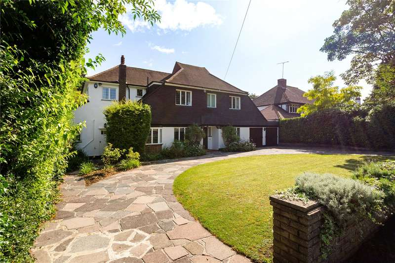 4 Bedrooms Detached House for sale in Verulam Avenue, Purley, CR8