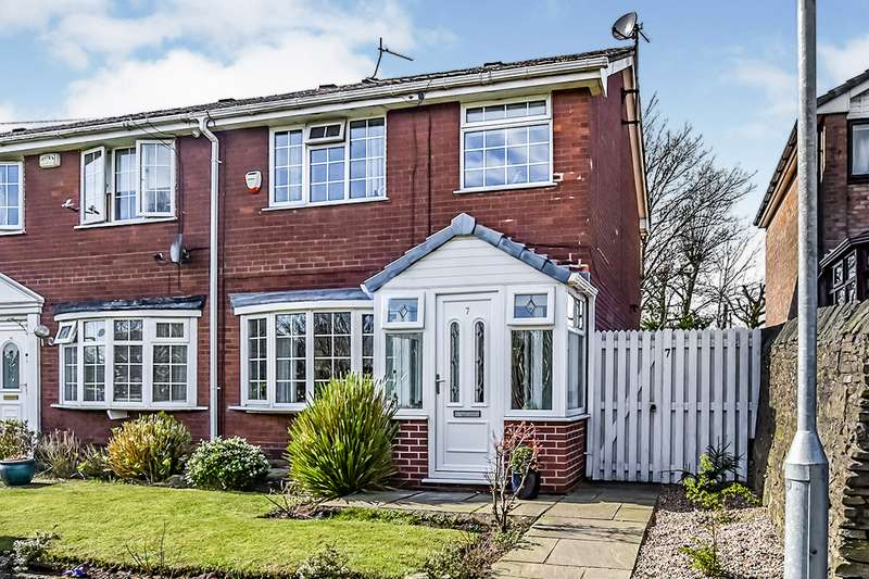 3 Bedrooms Semi Detached House for sale in Prospect Road, Dukinfield, Greater Manchester, SK16