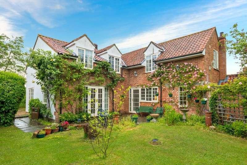 4 Bedrooms Detached House for sale in Aslackby Road, Kirkby Underwood, Bourne, PE10