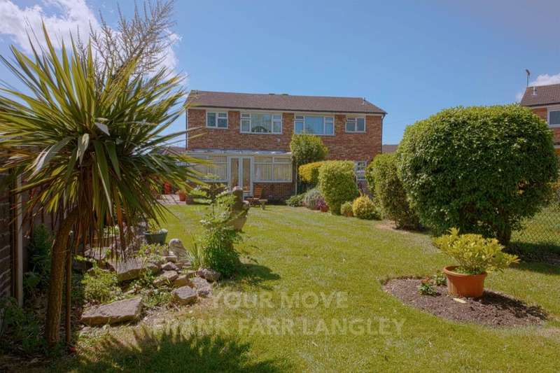 3 Bedrooms Semi Detached House for sale in Rodney Way, Colnbrook, Slough, SL3