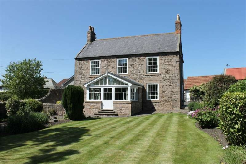 4 Bedrooms Detached House for sale in East Ord Farmhouse, East Ord, Berwick Upon Tweed