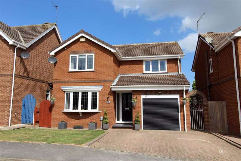 4 Bedrooms Detached House for sale in Manor Garth, Skidby, East Yorkshire