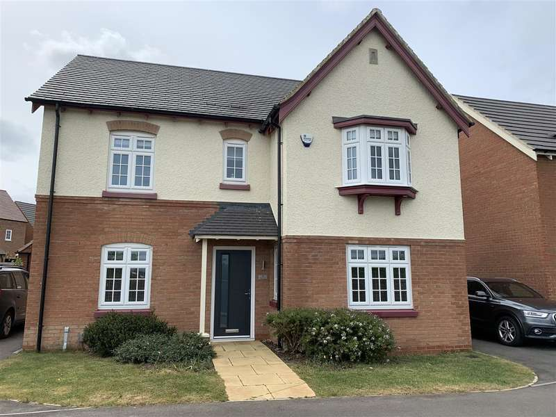 4 Bedrooms Detached House for sale in Quince Close, East Leake, Loughborough