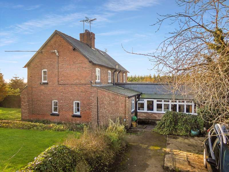 3 Bedrooms Property for sale in Wettenhall, Winsford, Cheshire